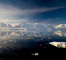Sunset over the Neumayer Channel, Antarctica - Number nine by cpcphoto