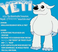 Yeti With Title by mstiv