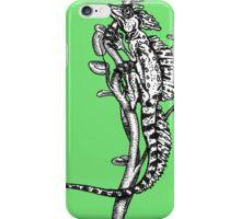 Green Basilisk Lizard iPhone Case/Skin