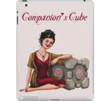 Companion's Cube iPad Case/Skin