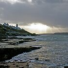 Roches Point Storm by David O'Riordan