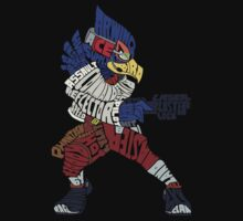 That Ain't Falco! | Falco Typography by kingsrock