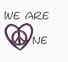 We Are One - Love Peace by JoBaby13