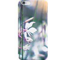 Pretty white flowers, vintage, pastel iPhone Case/Skin