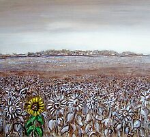 Sunflower Field by Cathy McGregor