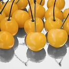 yellow cherry by VioDeSign