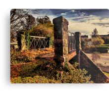 Last Bridge on the Lartigue Metal Print