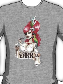 Pirate pinup 'Yarr!' T-Shirt