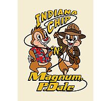 Indiana Chip 'n' Magnum, P.Dale Photographic Print