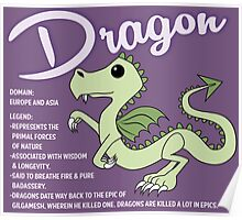 Dragon With Title Poster