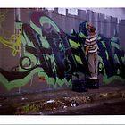 Graff 01 - Polaroid by tano
