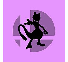Smash Bros - Mewtwo Photographic Print