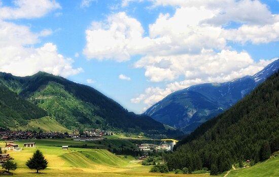 Switzerland, Sedrun by Galyna Schmid