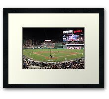 Washington Nationals Baseball Ballpark Framed Print
