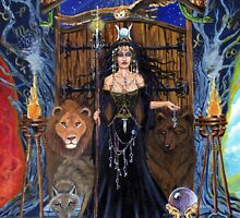 Hecate Goddess of Magic and Witchcraft by Lori Karels