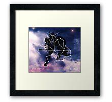 ES Birthsigns: The Warrior Framed Print