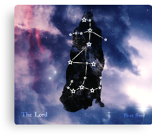 ES Birthsigns: The Lord Canvas Print