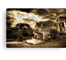 The Birds revisited Canvas Print