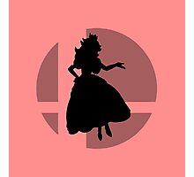 Smash Bros - Princess Peach Photographic Print