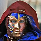 Venetian Carnival Mask by Garrington