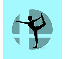 Smash Bros - Wii Fit Trainer Photographic Print