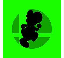 Smash Bros - Yoshi Photographic Print