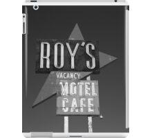 Route 66 - Roy's of Amboy, California iPad Case/Skin