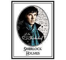 Benedict Cumberbatch, Sherlock Holmes - I Am Sherlocked Photographic Print