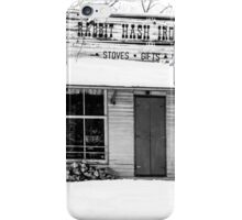 Rabbit Hash Iron Works B&W iPhone Case/Skin