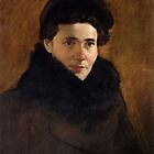 My Mother's Portrait by Josef Rubinstein