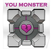 You Monster (white) Poster