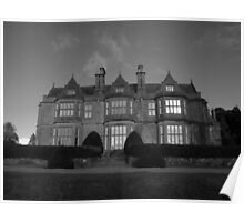 Muckross House in black and white Poster