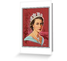 Her Majesty Queen Elizabeth II Greeting Card