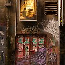 Hosier Lane Doorway by daveoh