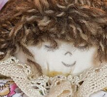 old doll fabric by spetenfia