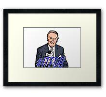 Vin Scully  Framed Print