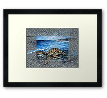 Beach Fantasy Framed Print