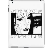 Bored now iPad Case/Skin