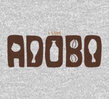 I Love Adobo Kids Clothes