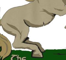 Prancing Poney Sticker