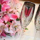 Bride and Groom glasses by Hunnie