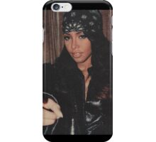 Aaliyah ~ Worlds babygirl iPhone Case/Skin