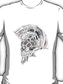 Punk Skull - plain T-Shirt