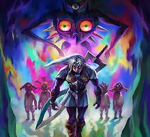 Majora's mask 3D by TheBlueFlare
