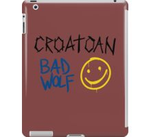 SuperWhoLock Graffiti iPad Case/Skin
