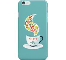 Enjoy the Tea iPhone Case/Skin