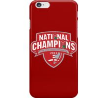 Buckeyes - 2015 Champs iPhone Case/Skin