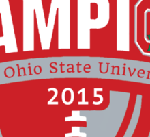 Buckeyes - 2015 Champs Sticker