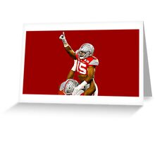 Zeke Elliott - Champ Pose Greeting Card