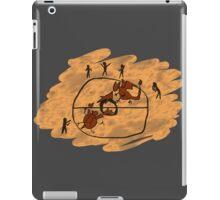 Rupestrian Pokemon Battle V.2 iPad Case/Skin